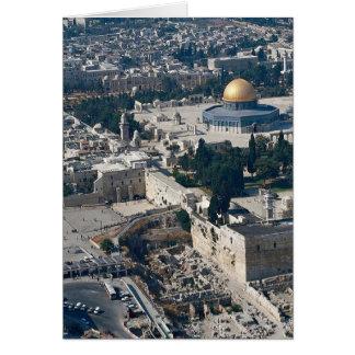 Dome of the Rock, old city Jerusalem, Israel Cards