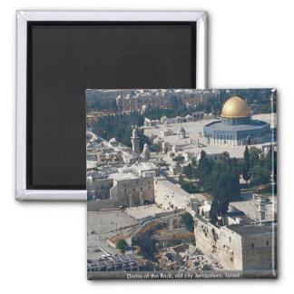Dome of the Rock, old city Jerusalem, Israel Refrigerator Magnet