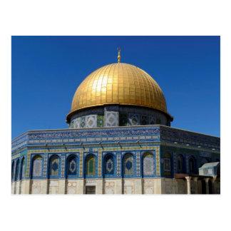 Dome of the Rock Post Card: Jerusalem, Palestine Postcard