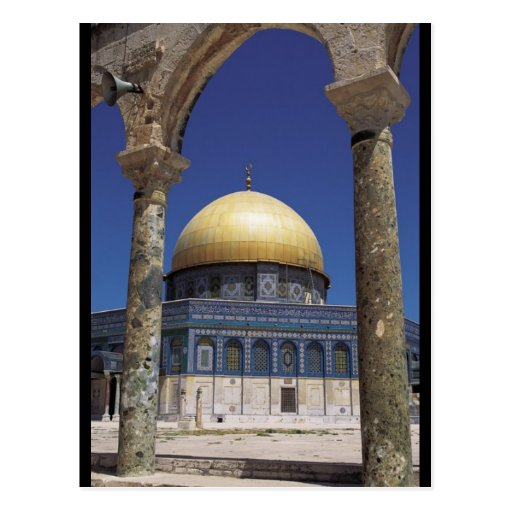Dome of the Rock Post Card