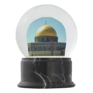 Dome of the Rock Snow Globes