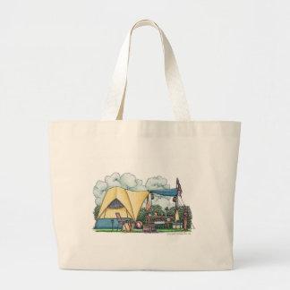 Dome Tent Camper Camping Bags/Totes Canvas Bag