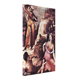 Domenico Beccafumi - Moses and Tablets of Law Stretched Canvas Prints