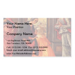 Domenico Ghirlandaio- The Visitation Business Card Templates