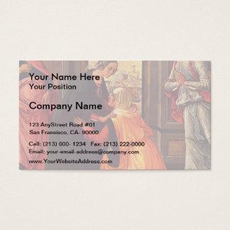Domenico Ghirlandaio- The Visitation Business Card