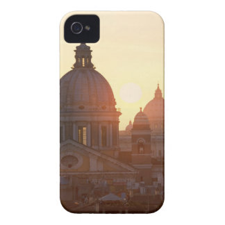 Domes of San Carlo al Corso Church and St. Case-Mate iPhone 4 Case