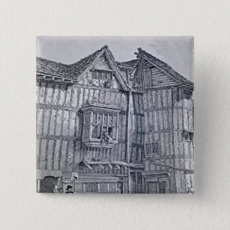 Domestic Architecture, 1791 15 Cm Square Badge