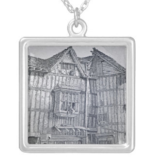 Domestic Architecture, 1791 Silver Plated Necklace