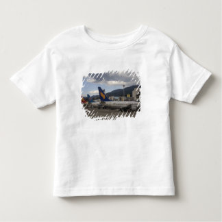 Domestic Chinese jet airliners lined up at Toddler T-Shirt