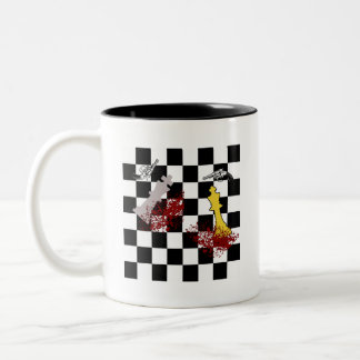 Domestic Disturbance Two-Tone Coffee Mug