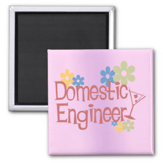 Domestic Engineer Magnet