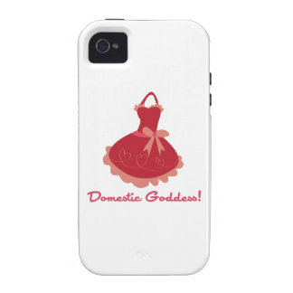 Domestic Goddess Case-Mate iPhone 4 Cover