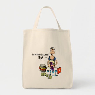 Domestic Goddess? HA! Bag