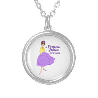 Domestic Goddess Custom Necklace