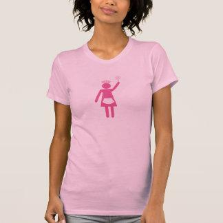 Domestic Goddess Pink logo T-Shirt