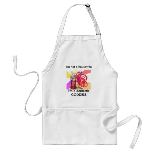 Domestic Goddess Standard Apron