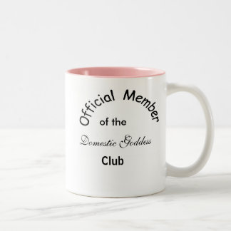 Domestic Goddess Two-Tone Coffee Mug