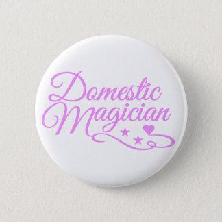 Domestic Magician custom button