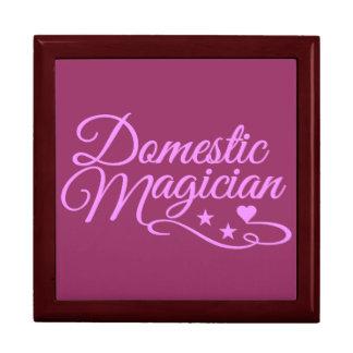 Domestic Magician custom gift / jewelry box