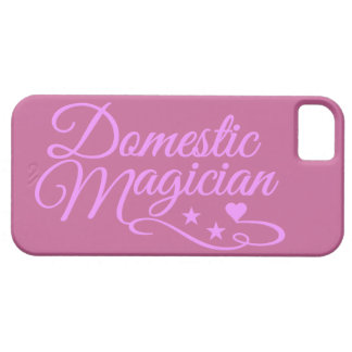 Domestic Magician custom iPhone case Barely There iPhone 5 Case
