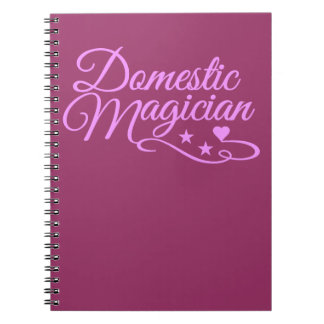 Domestic Magician custom notebook