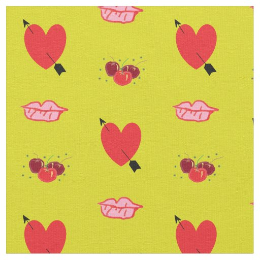 Domestic Not Basic Calico Pop Art Cotton Fabric