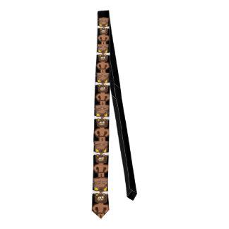 Domestic Not Basic Tiki Totem Skinny Tie