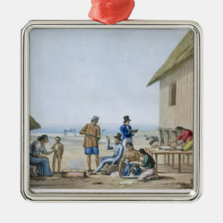 Domestic occupations, Agagna, Guam, Philippines, f Christmas Ornament