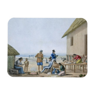 Domestic occupations, Agagna, Guam, Philippines, f Magnet