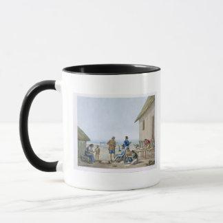Domestic occupations, Agagna, Guam, Philippines, f Mug