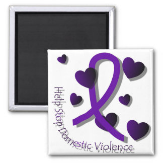 Domestic Violence Awareness Magnet