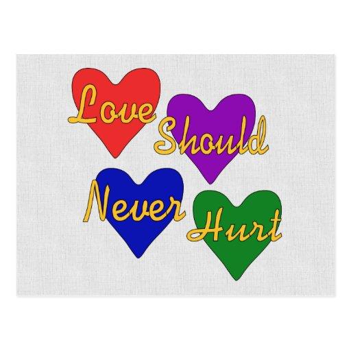 Domestic Violence Awareness Post Card