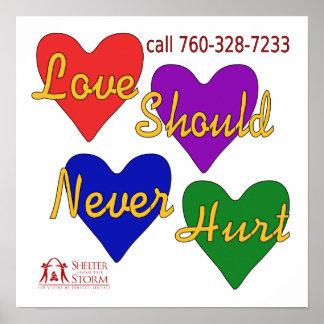 Domestic Violence Awareness Print