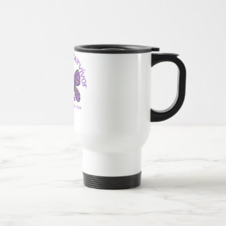 Domestic Violence Butterfly I Am A Survivor Coffee Mugs