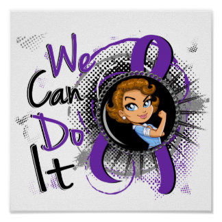 Domestic Violence Rosie Cartoon WCDI png Poster