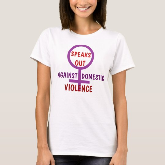 DOMESTIC VIOLENCE SHE'S SPEAKS OUT T-Shirt