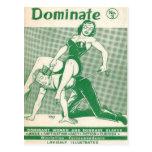 """Dominate"" Postcard"