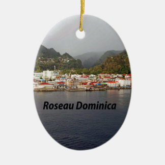 Dominica Christmas Ornament