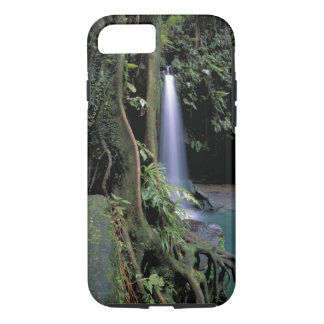 Dominica, Emerald Pool, Waterfall. iPhone 8/7 Case