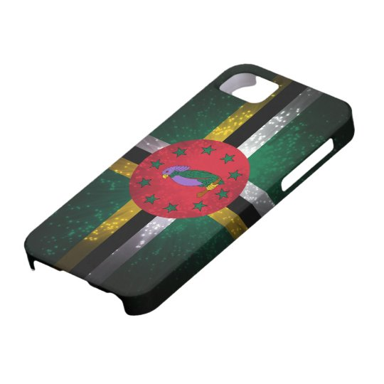 Dominica Flag Firework iPhone 5 Cover