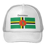 Dominica Flag Hat