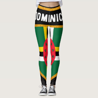 Dominica Flag Leggings