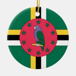 Dominica Flag Ornament