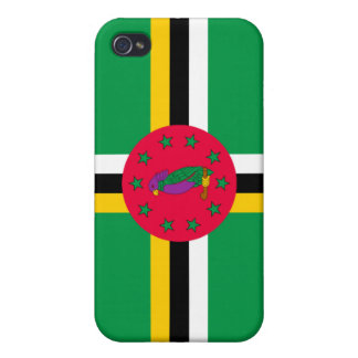 Dominica National Nation Flag  iPhone 4 Covers