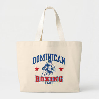 Dominican Boxing Tote Bags