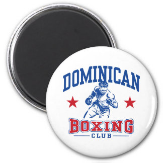 Dominican Boxing Magnet