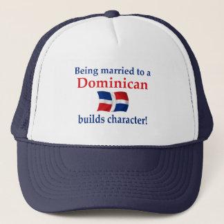 Dominican Builds Character Trucker Hat
