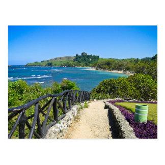 Dominican Coastline Postcard