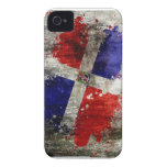 Dominican Flag Splash Blackberry case
