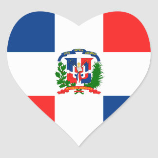 Dominican Flag Stickers
